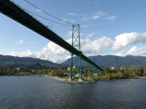 Photo of Lions Gate Bridge in Vancouver