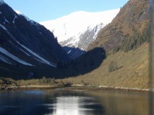 Photo of a glacier in Alaska