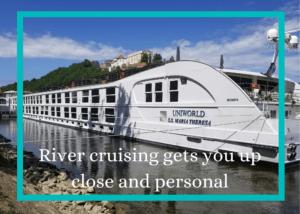 photo of river cruise ship